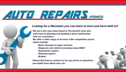 Looking for a mechanic you can learn to trust and have faith in? Ipswich Ipswich City Preview