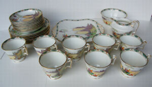 Beautiful Vintage FENTON Chinaware - Japanese or Chinese Motif