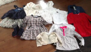 Designer size 4T & 5T winter clothing lot!