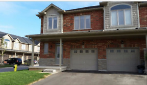 Grimsby - 3 bedroom END UNIT Townhome for rent