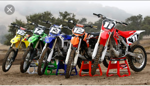250 four stroke or 125 two stroke