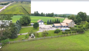 98 ACRE FARM -GREAT OUTBUILDINGS- COMPLETELY REDONE 2 STOREY!