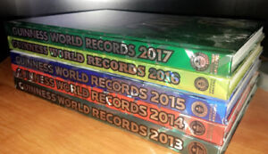 Brand New 5 Guinness World Records Books for only $35 !