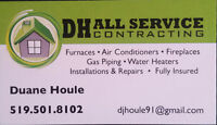 Heating-Air Conditioning-Fireplaces-Water Heaters-Gas Piping