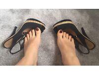 Well worn heels