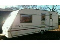 1998 Bailey caravan 4-5 berth with a fitted motormover & full paperwork