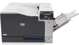 HP Color LaserJet CP5225 A3 printer.