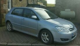2006 Toyota Corolla D4D Colour Collection - 7 months mot - 102k miles only