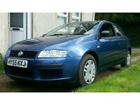 Fiat stilo 1.4 55 reg Active Aircon 6 speed 2 owners from new