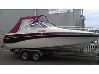 Crownline diesel cuddy boat