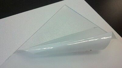 Купить SIBE POLYMERS - PETG CLEAR PLASTIC SHEET 0.020 VACUUM FORMING RC BODY HOBBY **YOU PICK SIZE**