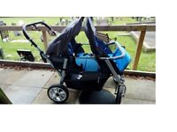 Amazing 4 seater off road pushchair - Nursery/ childminder