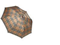 Burberry Umbrella, Dark Camel