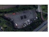 SECURE STORAGE YARD WITH MONITORED CCTV