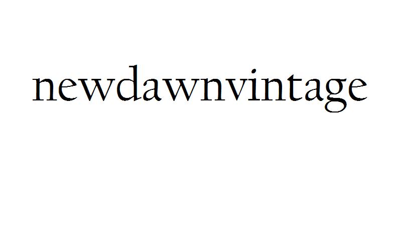 newdawnvintage