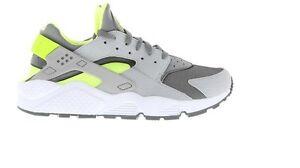 2014 Exclusive Nike Air Huarache Cool Grey Lime Green All #0: $ 35 JPG