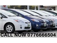 PCO CARS HIRE RENT-LOW MILEAGE CLEAN CARS FROM £110 PER WEEK