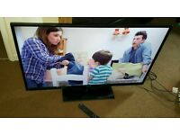 Samsung 43 inch slim line HD tv excellent condition fully working with remote