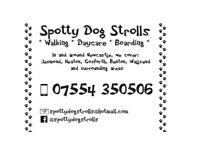 Spotty Dog Strolls * Dog Walker/Walking * Dog Daycare * Dog Boarding * Services