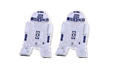 Star Wars Cufflinks R2 D2  SHIRT.  Cuff links  WEDDING GROOM BESTMAN FORMAL WEAR