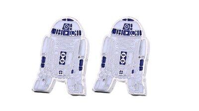 Star Wars Cufflinks R2 D2  SHIRT.  Cuff links  WEDDING GROOM BESTMAN FORMAL WEAR