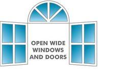 Open Wide Windows 'N' Dorrs