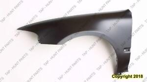 Fender Front Driver Side Coupe/Hatchback Honda Civic 1992-1995