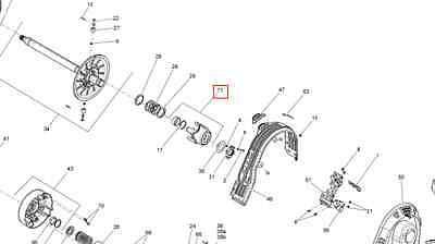 SKI-DOO CAM ASSY 417127319 ()