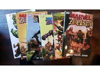 Marvel Zombies 1-5 + return hardbacks