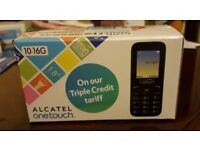 Alcatel one touch mobile phone brand new