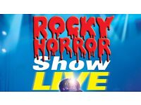 ROCKY HORROR - FRONT ROW TICKETS (��47 each) - Kings Theatre, Glasgow Saturday 13th August
