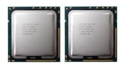 Matched Pair 2 x Intel Xeon L5520 2.26GHz Quad Core LGA 1366 CPU SLBFA Mac Pro