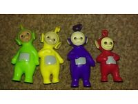 Teletubbies figures and beds