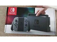 Nintendo swotch console