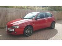 2008 Alfa Romeo 147 collezione 1.9 JTDM limited edition excellent condition, 2 previous owners