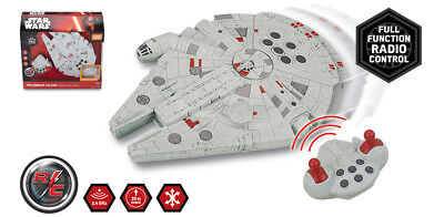 Star Wars Millennium Falcon Radio Controlled Classic Edition RC CAR 30m Range UK](Millennium Falcon Rc)
