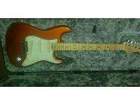 Fender Elite Stratocaster MN in Autumn Blaze will trade for a Tele