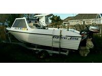 Fishing boat explorer elite