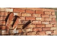 Brick tile - slips VICTORIA ANTIC red/white/black flamed color ref 455A- WDF