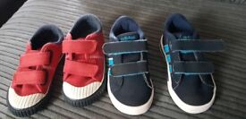 Toddler boys trainers like new