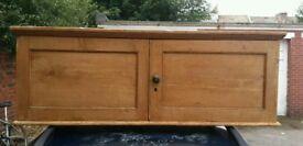 Vintage storage low level cupboard