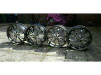 22 Inch BMW X5, Range Rover Alloy Wheels - 5x120