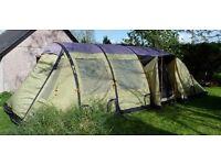 Vango Air Beam Exodus 800 Tent + Footprint, Carpet & Pump