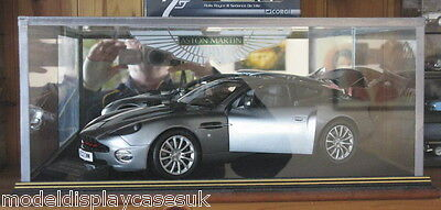 1:12 ASTON MARTIN VANQUISH OO7 JAMES BOND - GLASS DISPLAY CASE ONLY OR ANY ITEM
