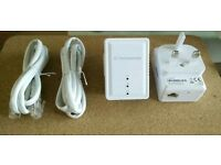 Power line adaptors 500Mbps ***REDUCED TO SELL***