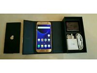 Samsung Galaxy s7 SM-G930F Platinum Gold 32GB Unlocked Boxed