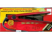 Nicky Clarke desired hair straightners