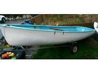 12ft tender row dinghy