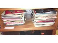 Over 50x 45 rpm singles 1960-1990