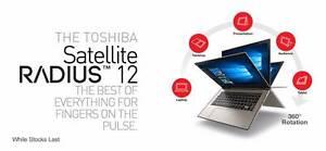 "Toshiba  Radius 12-Core i7 12.5"" Touch 4K Ultrabook Fairfield Fairfield Area Preview"